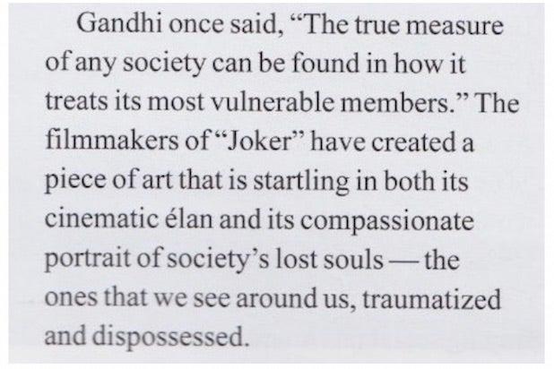 Gandhi Joker