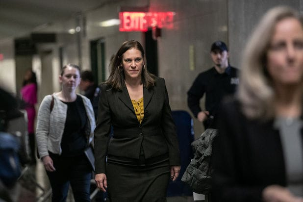 Joan Illuzzi at Harvey Weinstein trial
