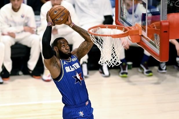 NBA All Star Game, LeBron James