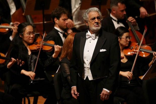 Placido Domingo in 2017