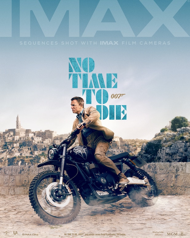James Bond No Time to Die IMAX Poster