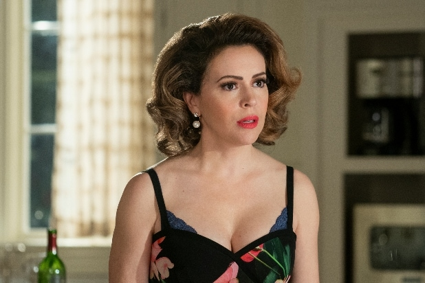 Insatiable Alyssa Milano