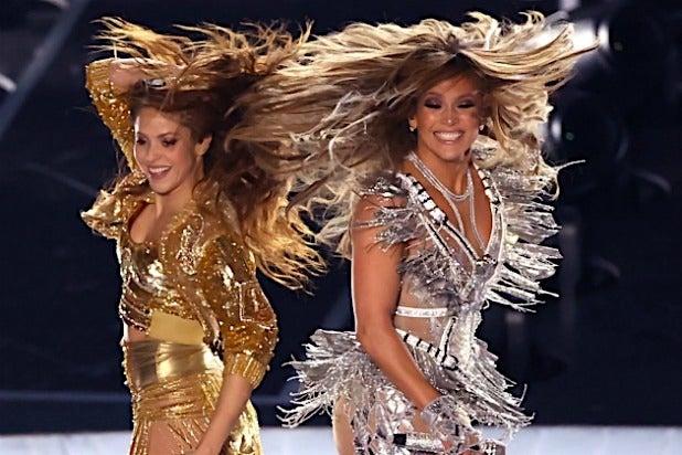 Jennifer Lopez Shakira Super Bowl LIV
