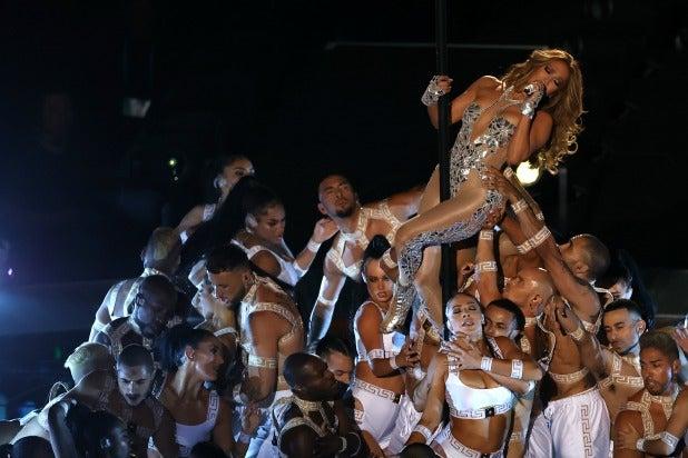 Jennifer Lopez Puts 'Hustlers' Pole Dancing Training to Good Use During Super Bowl Half-Time Show
