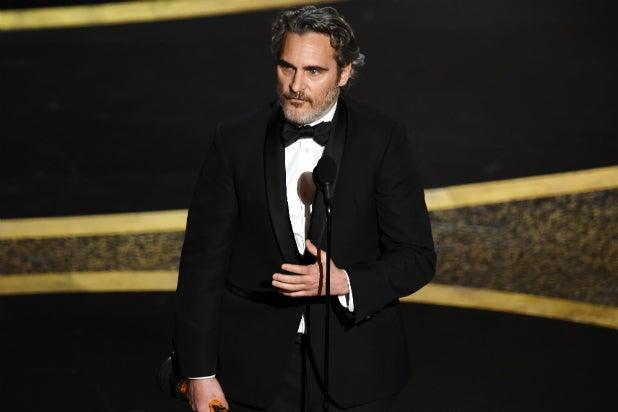 Joaquin Phoenix - Oscars