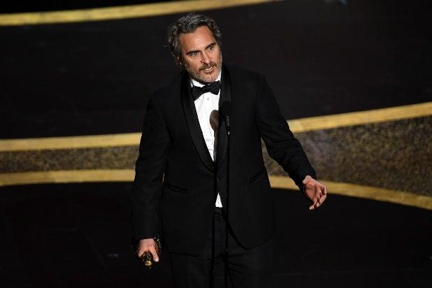 Joaquin Phoenix, Oscars 2020