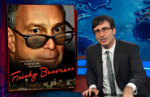 John Oliver Bloomberg Stop and Frisk Daily Show