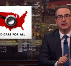 John Oliver on Medicare for All