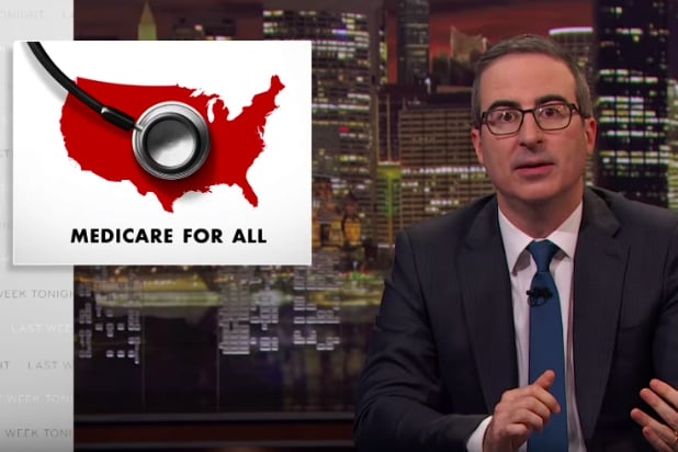 John Oliver on Medicare for All