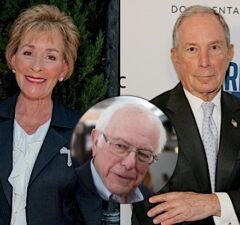 Judge Judy Sheindlin Michael Bloomberg Bernie Sanders 2020 election