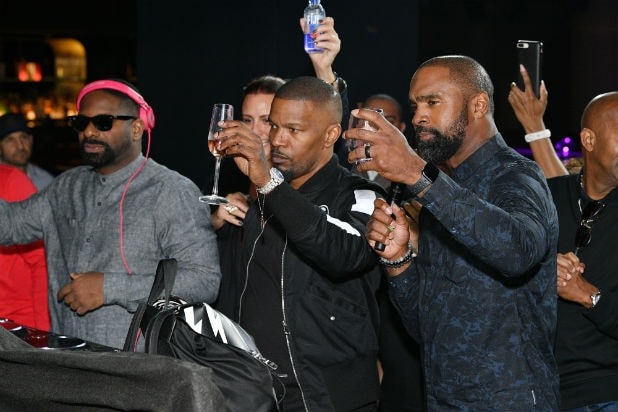 Kobe Tribute Jamie Foxx the 6th Annual Culinary Kickoff Cropped