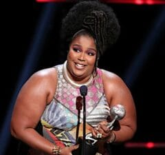 Lizzo NAACP Image Awards 2020