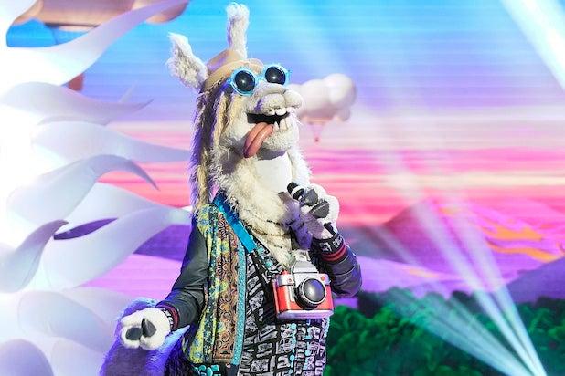 Llama Masked Singer Drew Carey