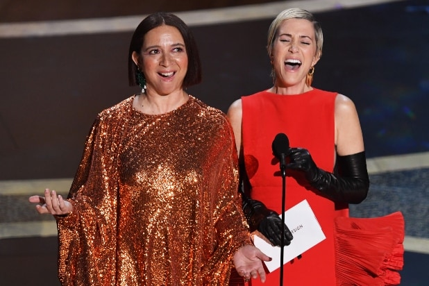 Maya Rudolph Kristen Wiig Oscars 2020