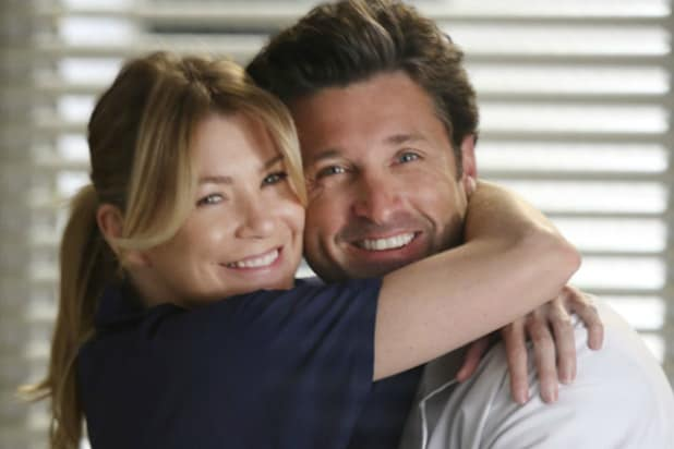 Meredith and Derek