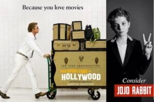 Once Upon a Time in Hollywood Jojo Rabbit