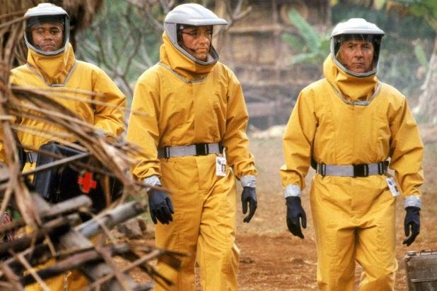 Outbreak Dustin Hoffman Cuba Gooding Jr Kevin Spacey Virus Outbreak Movies