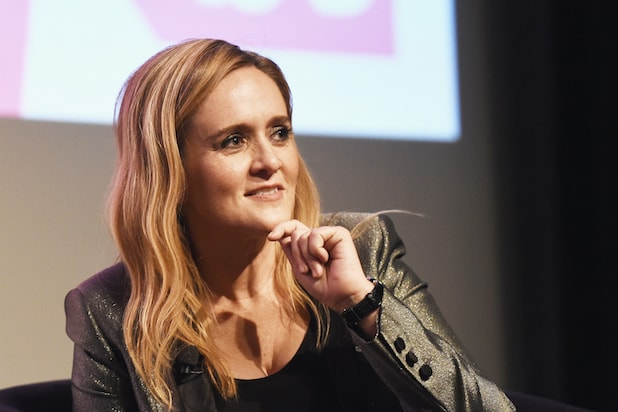 Samantha Bee Says 3 Female Impeachment 'Wo-Managers Demonstrate 'Optimism'