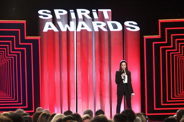 Spirit Awards Aubrey Plaza