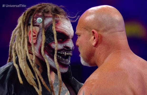 The Fiend vs Goldberg