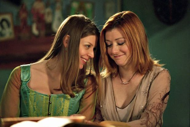 Willow and Tara Buffy