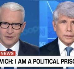 Anderson Cooper Rod Blagojevich