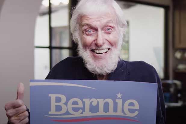 Dick Van Dyke endorses Bernie Sanders