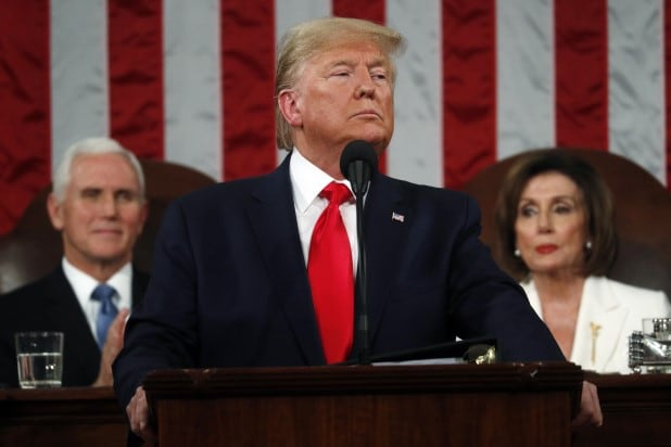 Donald Trump State of the Union 2020