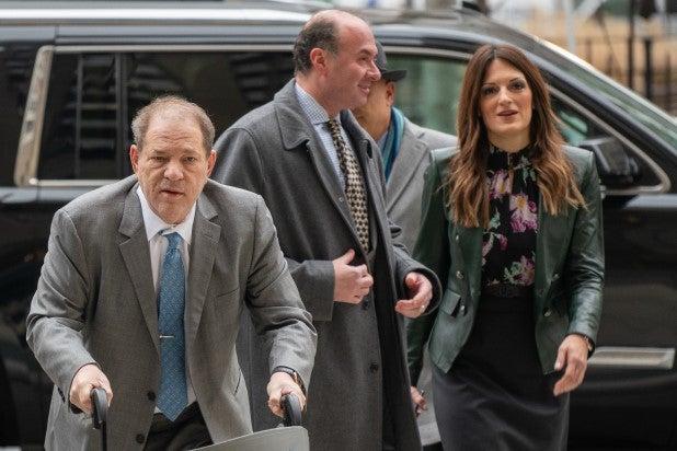 Harvey Weinstein Feb 18 2020