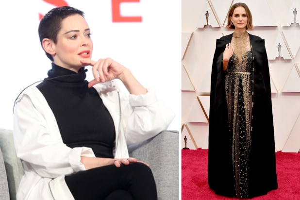 Natalie Portman Responds to Rose McGowan Diss: 'I Agree' It's Not Accurate to Call Me 'Brave'