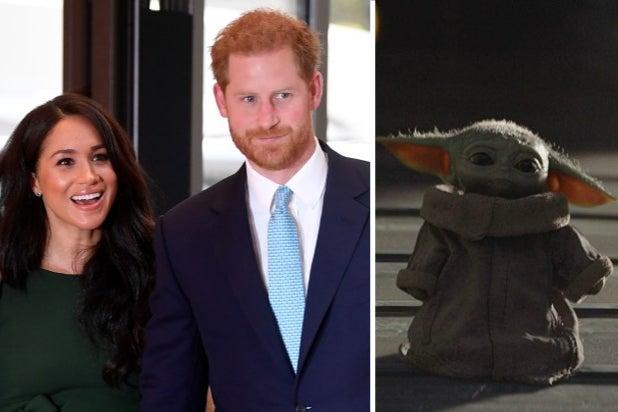 Meghan Markle Prince Harry Baby Yoda
