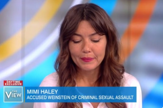 Miriam Haley on The View