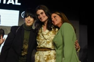 Women in Film Oscar party 2020 brought out the likes of Diane Warren, Idina Menzel and WIF president Cathy Shulman Schulman