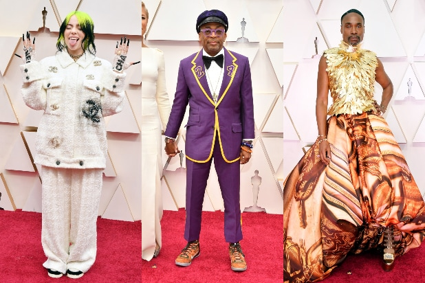 Billie Eilish, Spike Lee, Billy Porter, Oscars 2020