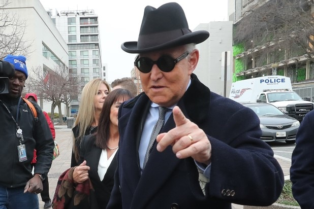 Trump Ally Roger Stone Sentenced to 3 Years...