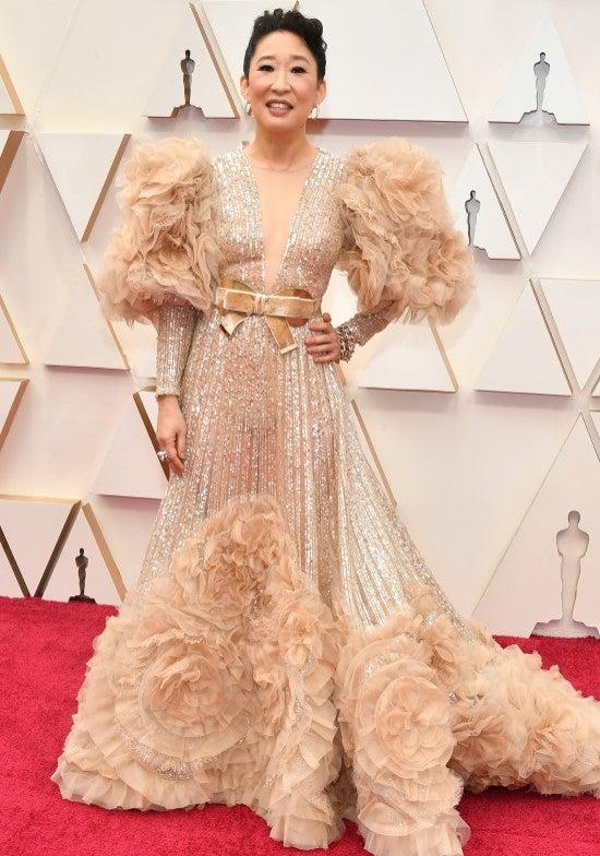 Oscars 2020 Sandra Oh
