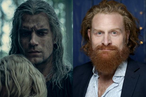 the witcher Kristofer Hivju