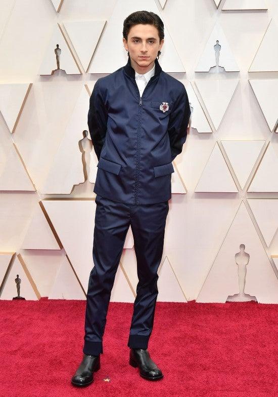 Timothee Chalamet, Oscars 2020