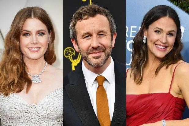 Amy Adams, Chris O'Dowd, Jennifer Garner