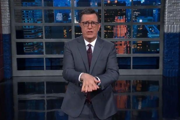 Colbert Late Show Coronavirus