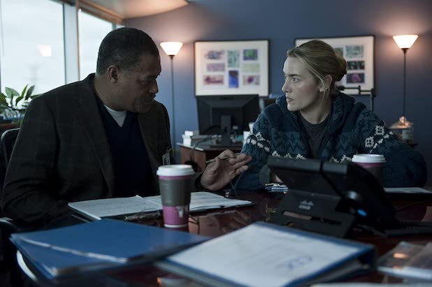 Contagion Laurence Fishburne Kate Winslet
