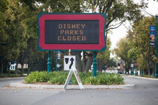 Coronavirus - Disney Parks Closed