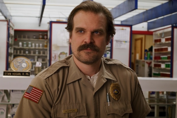 "David Harbour, ""Hopper,"" Stranger Things"