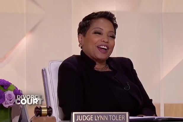 Divorce court Judge Lynn Toler