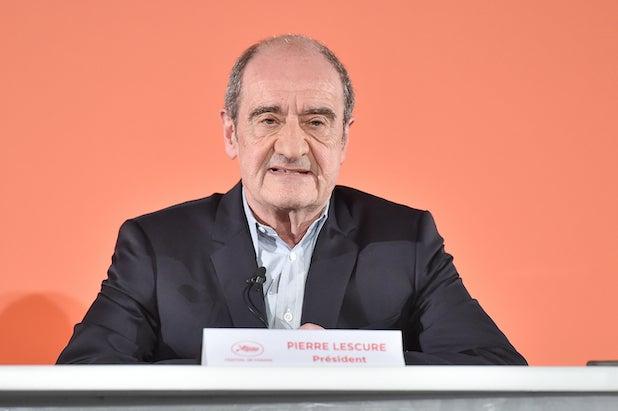 Pierre Lescure Cannes President Coronavirus