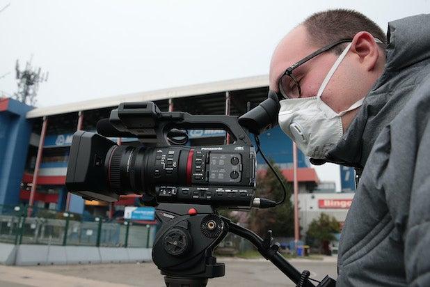Coronavirus Gig Economy Cameraman