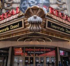 Movie theaters around the country are closing due to the coronavirus pandemic.