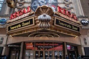 Movie theaters around the country are closing due to the coronavirus pandemic. VIP Cinemas