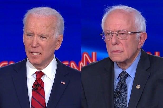 Joe Biden Bernie Sanders Debate