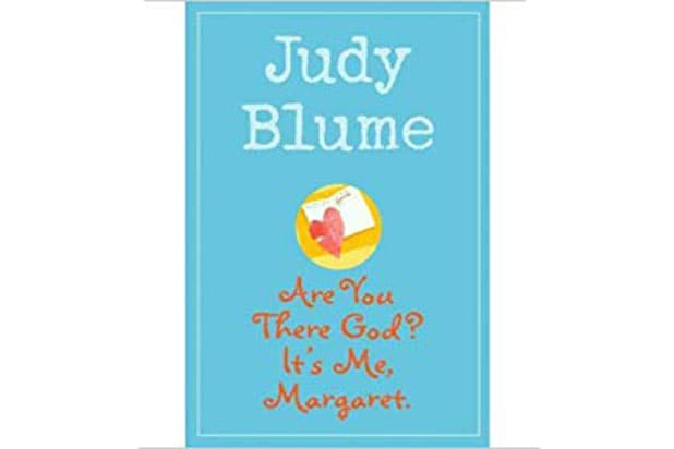 Judy Blume are you there god